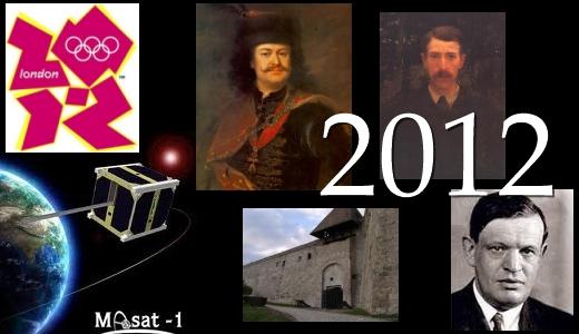 2012. évi emlékérme-kibocsátási program tematikája