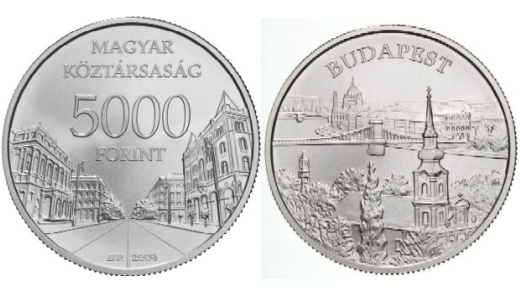 """Budapest"" collector coin"