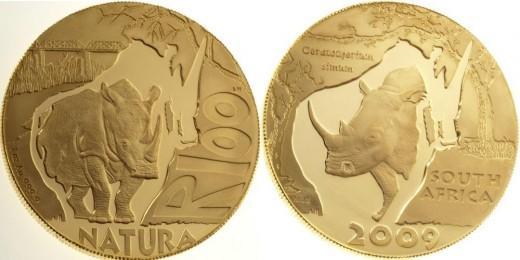 100 rand 2009 - a 2011-es év érméje