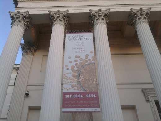 Nemzeti Múzeum - A kassai aranykincs című kiállítás
