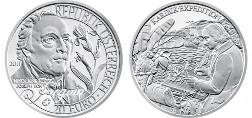 20 euró - Nikolaus Joseph von Jacquin