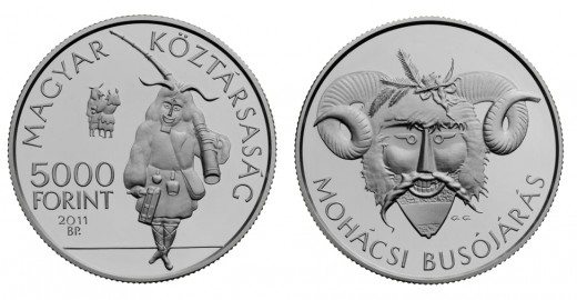 Busó festivities collector coin