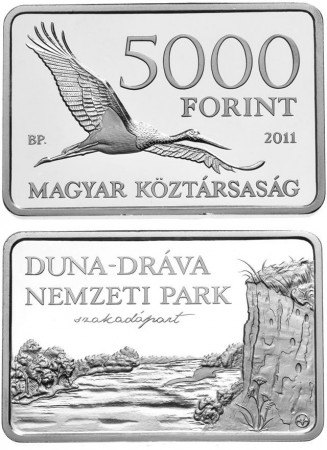 Danube-Drava National Park collector coin