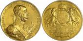 Ferenc József milleneumi arany