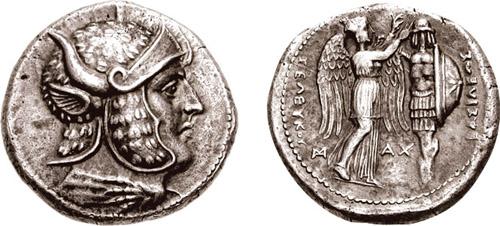 Seleukos Nikator tertradrachma