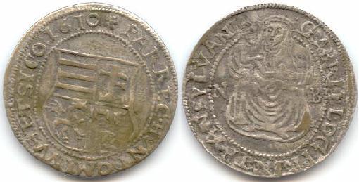 Báthori Gábor garas 1610