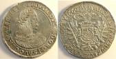 I. Lipót tallér 1660