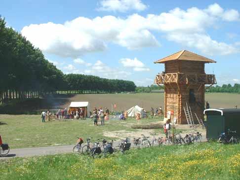 Római kiserőd (burgus) - forrás: fectio.org.uk