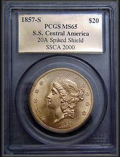 20 Dollár 1857 San Francisco