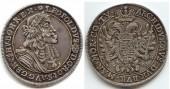 I.Lipót tallér 1682
