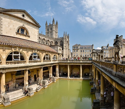 Bath, az ókori Aquae Sulis (fotó: Wikipedia)