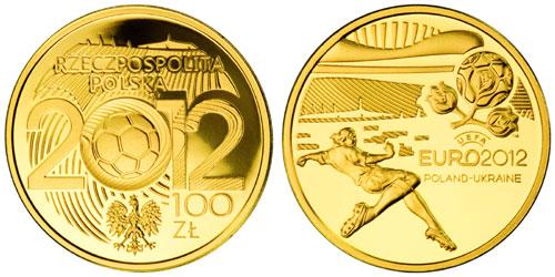 100 zloty - EB 2012