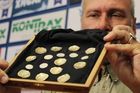Nyikolaj Ovcsinnyikov ásatásvezető régész