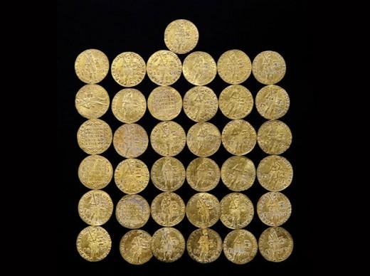 A megtalált holland aranydukátok