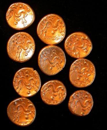 A tíz kelta aranypénz