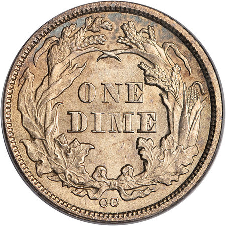 One dime 1873
