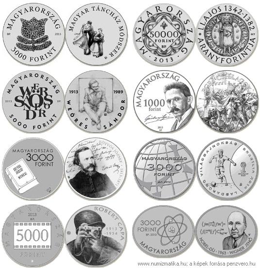 039f2a3ee Az MNB két arany és öt ezüst emlékérmét bocsát ki idén | Numismatics ...