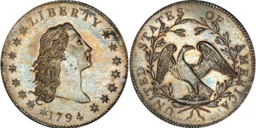 1794-es ezüstdollár