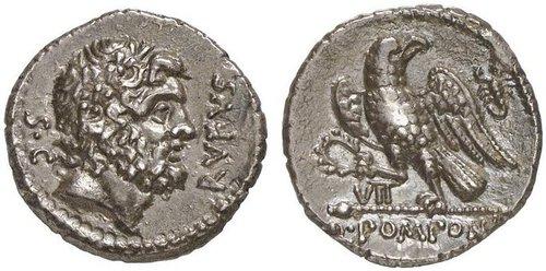 Pomponius Rufus denár