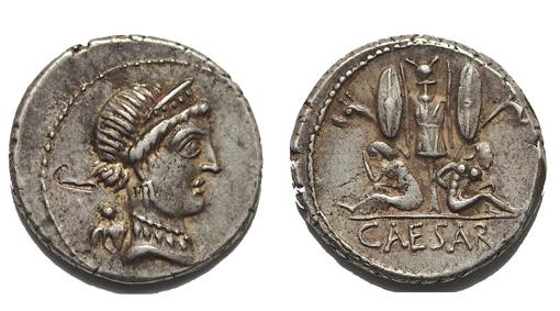 Julius Caesar denár
