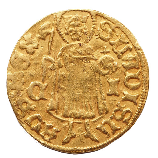 Zsigmond aranyforint C-I hátlap