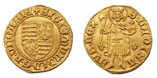 Zsigmond aranyforint Kassa 1387-1401 között