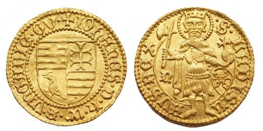 Hunyadi János aranyforint