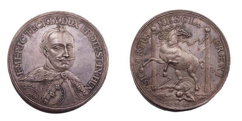 Thököly Imre érem 1690
