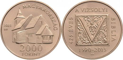 2000 forint névértékű színesfém emlékérme