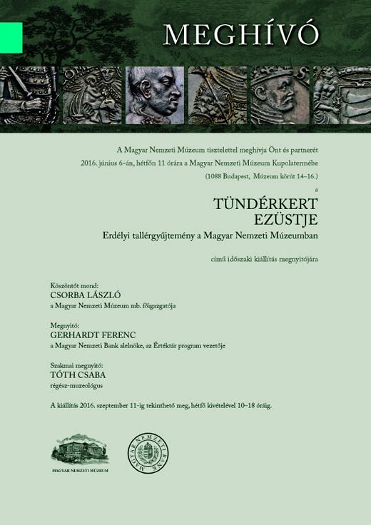 mehívó - a Tündérkert Ezüstje 2016. június 6. 11h